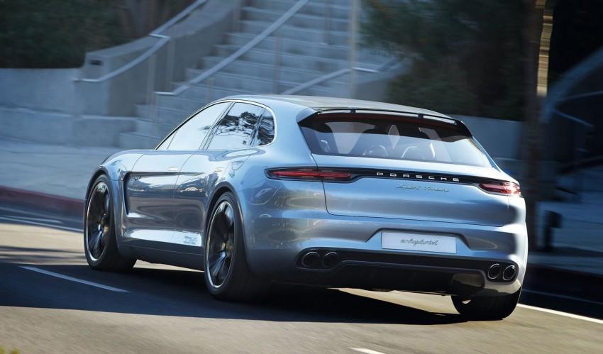 GALLERY: Porsche Panamera Sport Turismo Concept Image #146293