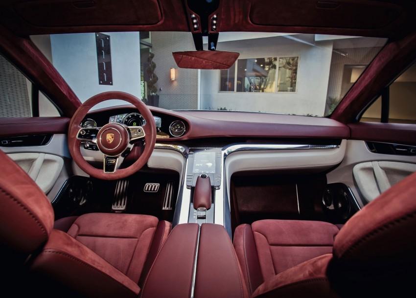 GALLERY: Porsche Panamera Sport Turismo Concept Image #146295