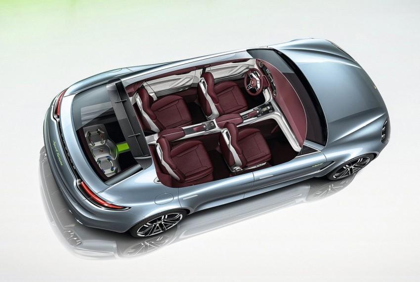 GALLERY: Porsche Panamera Sport Turismo Concept Image #146387