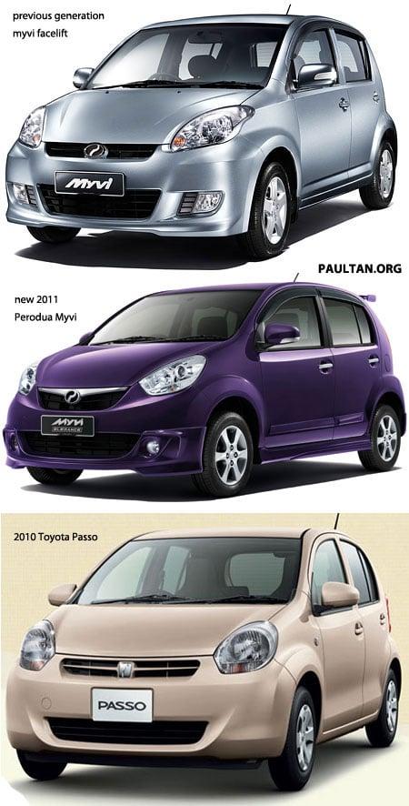 Perodua New Alza 2018 >> Unidentical twins: Perodua Myvi versus Toyota Passo