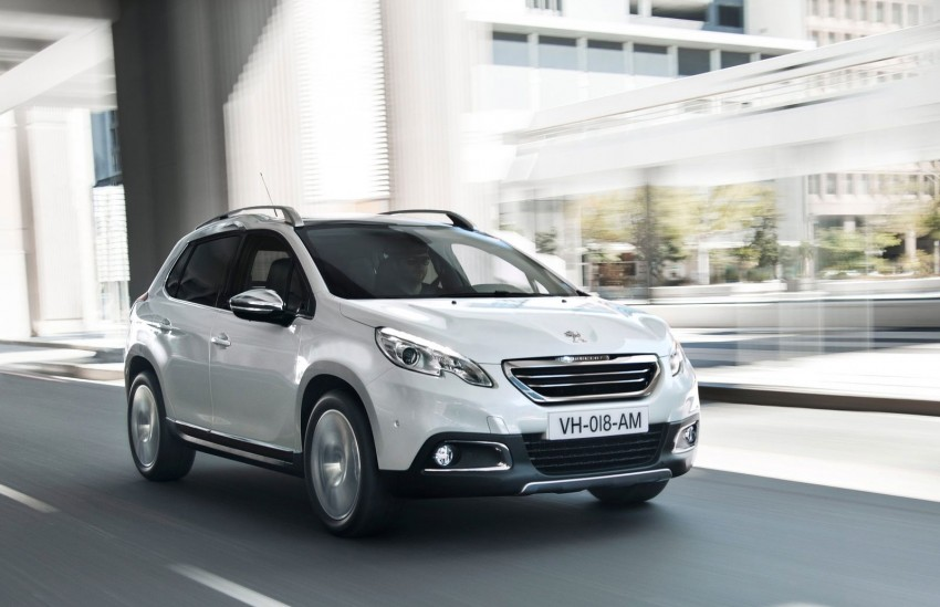 Peugeot 2008 Crossover – full details and gallery Image #155632