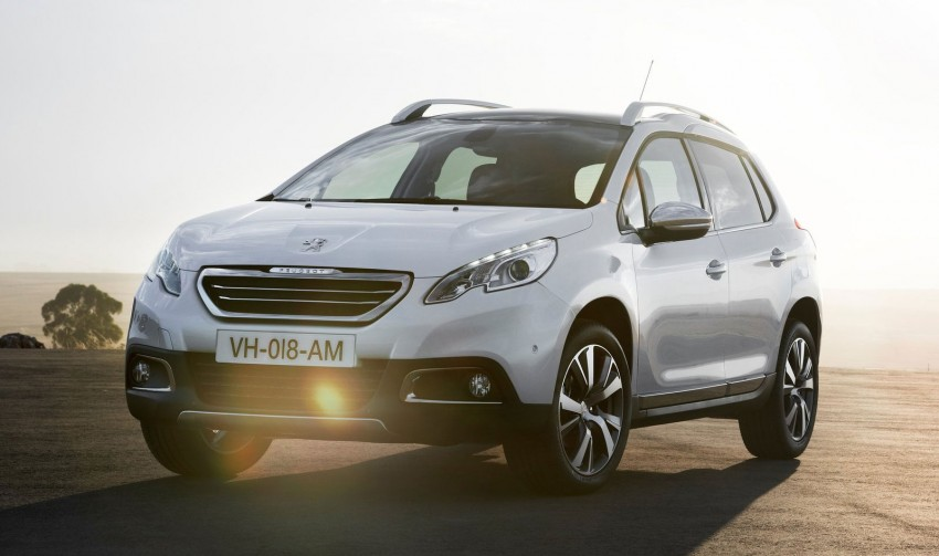 Peugeot 2008 Crossover – full details and gallery Image #155633