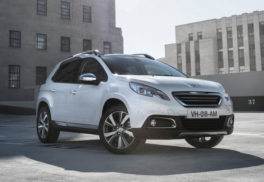 Peugeot 2008 Crossover – full details and gallery Image #155640