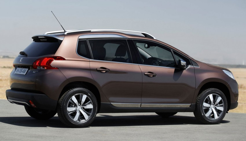 Peugeot 2008 Crossover – full details and gallery Image #155655