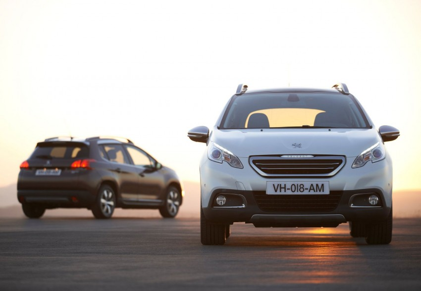 Peugeot 2008 Crossover – full details and gallery Image #155656