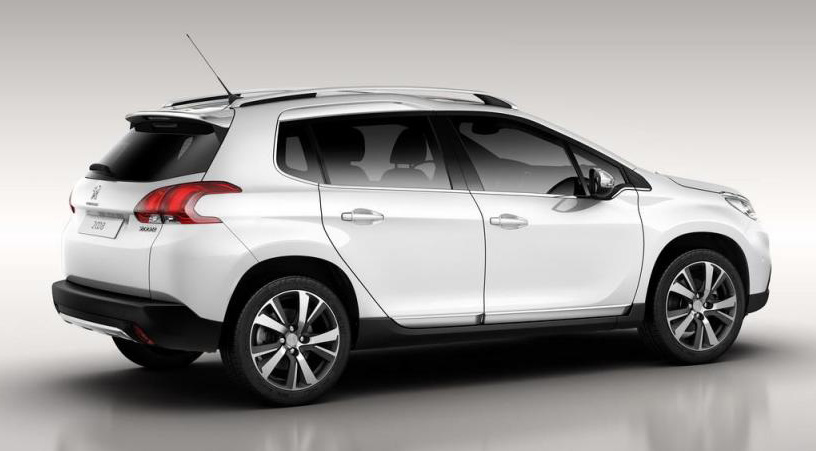 First photos of Peugeot 2008 make their way online Image #148364