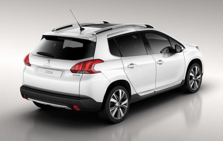 first photos of peugeot 2008 make their way online. Black Bedroom Furniture Sets. Home Design Ideas