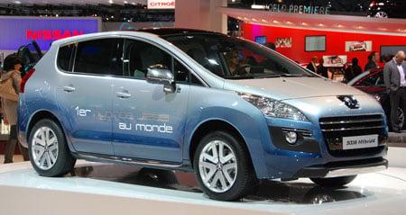 Peugeot 3008 HYbrid4, world's first diesel hybrid Image #120852