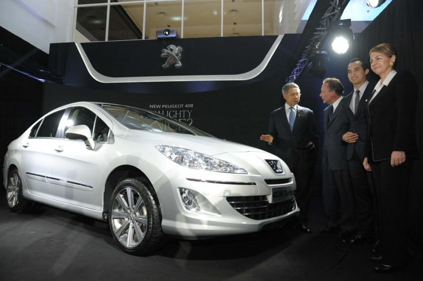 Peugeot 408 launched – Turbo at RM126k, 2.0 at RM110k Image #107612