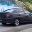 Peugeot 408 spy 2