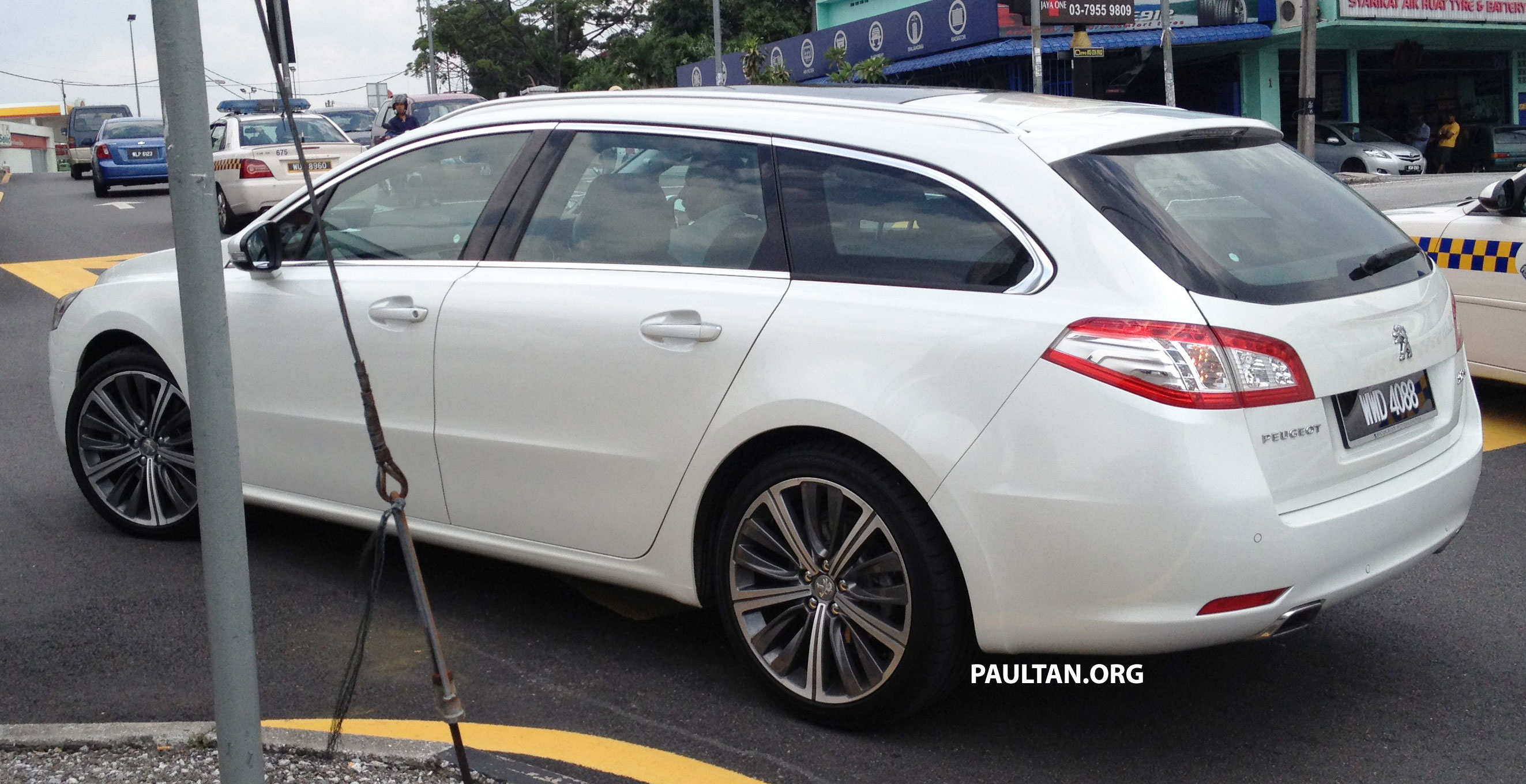 peugeot 508 gt wagon with malaysian plates spotted image. Black Bedroom Furniture Sets. Home Design Ideas