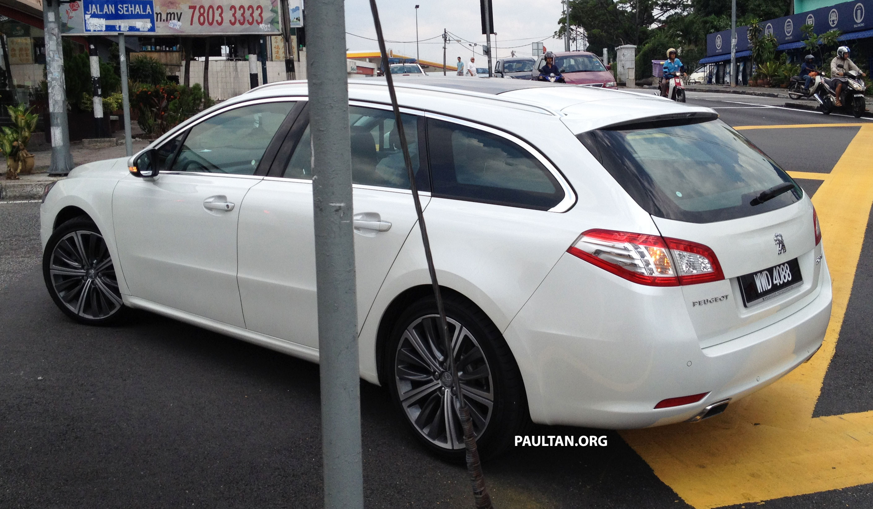 Peugeot 508 2018 >> Peugeot 508 GT wagon with Malaysian plates spotted! Paul Tan - Image 87584