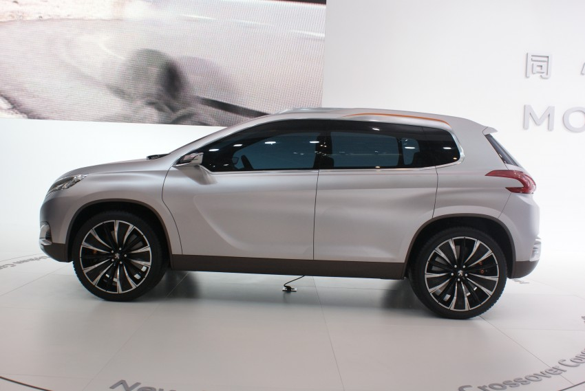 Peugeot Urban Crossover Concept hints at the future Image #103286