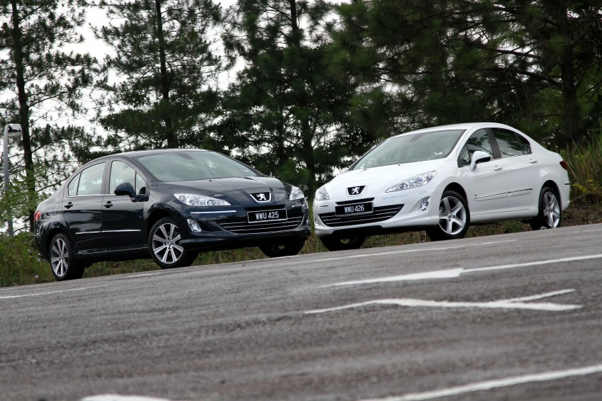 DRIVEN: Peugeot 408 Turbo and 408 2.0 Image #113164