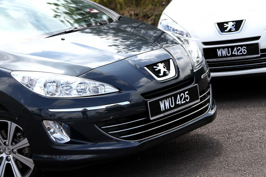 DRIVEN: Peugeot 408 Turbo and 408 2.0 Image #113167