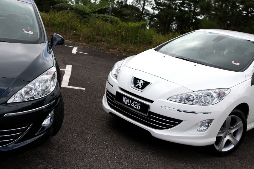 DRIVEN: Peugeot 408 Turbo and 408 2.0 Image #113170