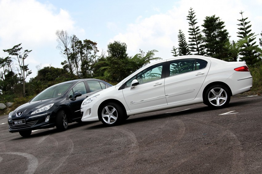 DRIVEN: Peugeot 408 Turbo and 408 2.0 Image #113171