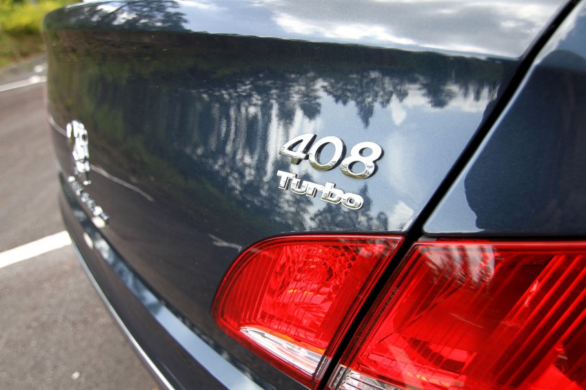 DRIVEN: Peugeot 408 Turbo and 408 2.0 Image #113227