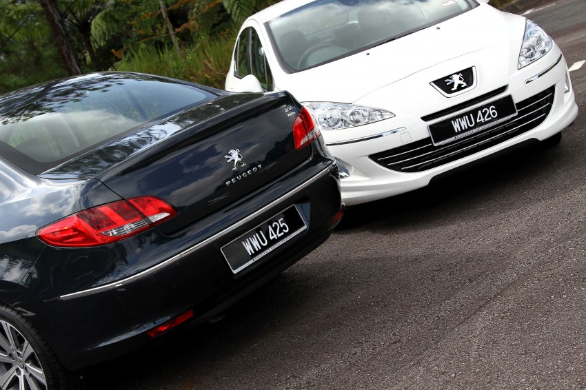 DRIVEN: Peugeot 408 Turbo and 408 2.0 Image #113239