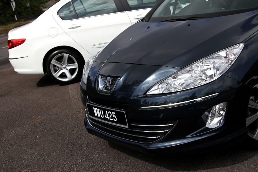 DRIVEN: Peugeot 408 Turbo and 408 2.0 Image #113240