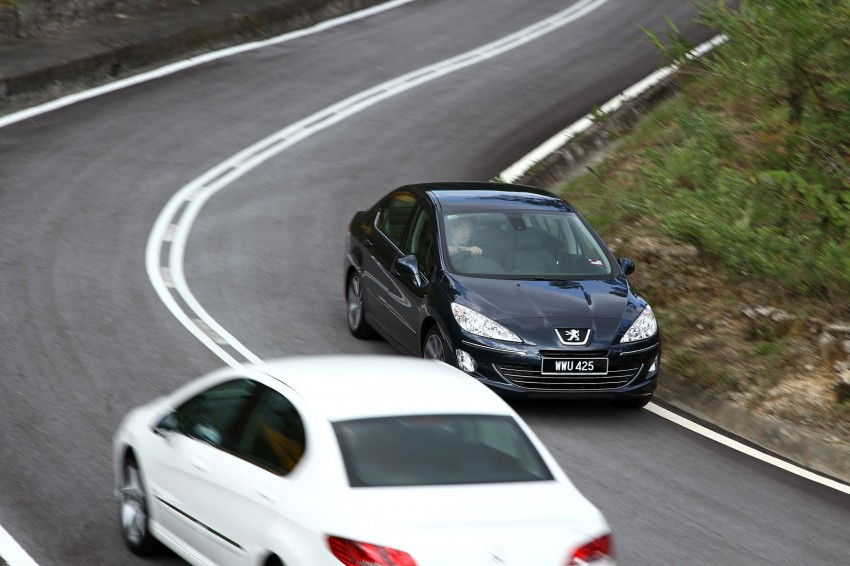 DRIVEN: Peugeot 408 Turbo and 408 2.0 Image #113249