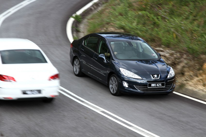 DRIVEN: Peugeot 408 Turbo and 408 2.0 Image #113250
