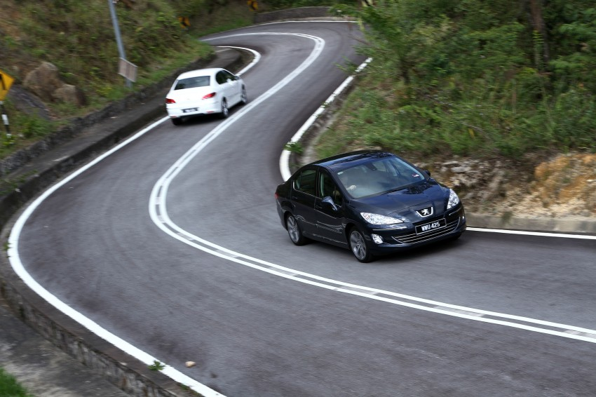 DRIVEN: Peugeot 408 Turbo and 408 2.0 Image #113254