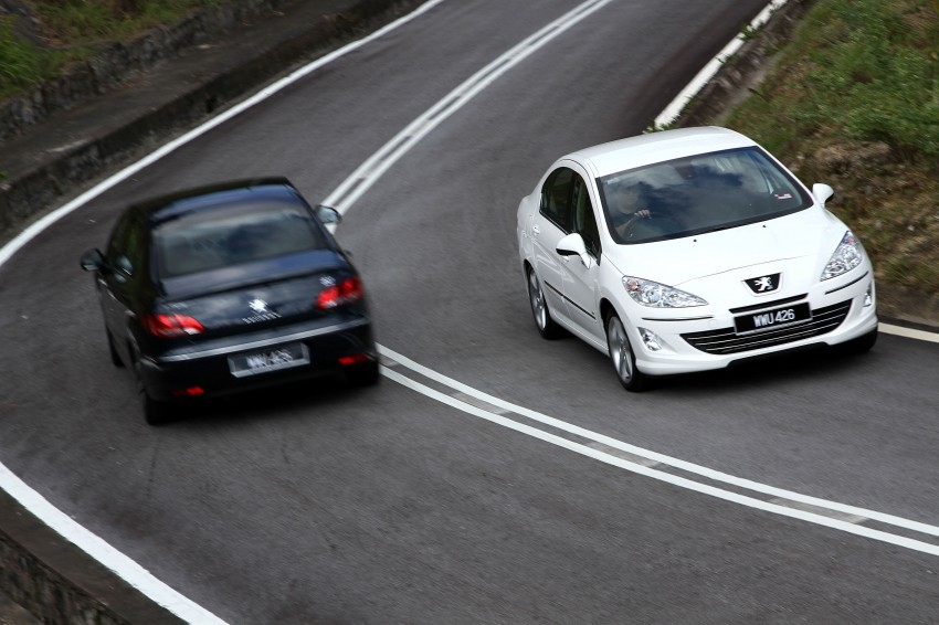 DRIVEN: Peugeot 408 Turbo and 408 2.0 Image #113255