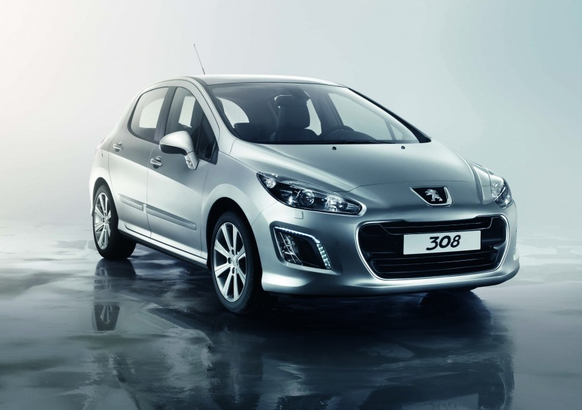 Peugeot 308 gets new look and features, from RM102k Image #116164