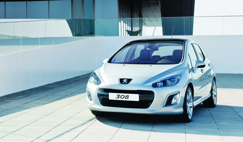 Peugeot 308 gets new look and features, from RM102k Image #116165
