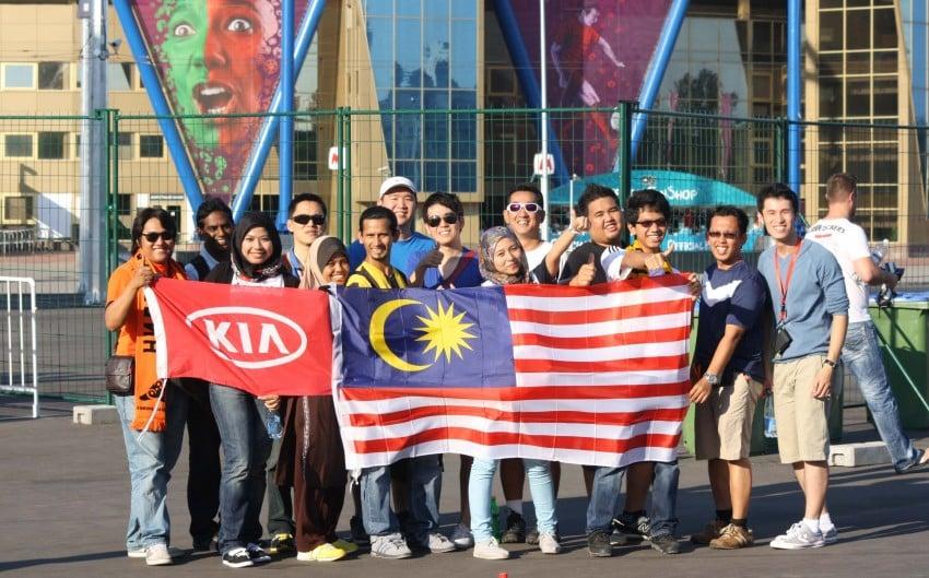 Naza Kia's EURO 2012 contest winners return home Image #116049