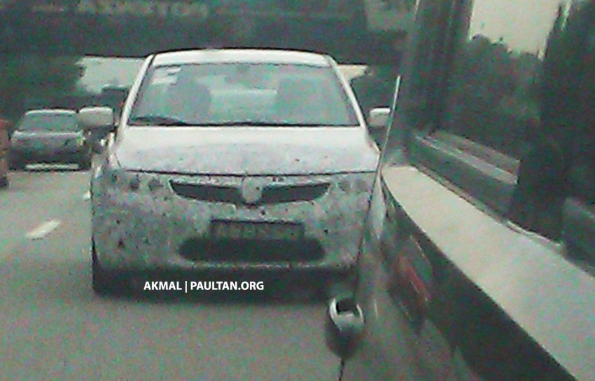 Proton P3-22A Spyshots: clearest pics yet of Proton's upcoming 5-door Preve hatchback Image #150228