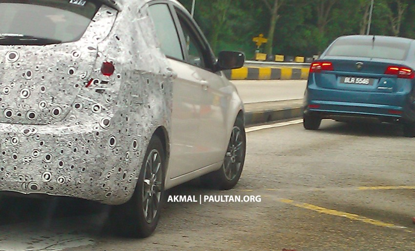 Proton P3-22A Spyshots: clearest pics yet of Proton's upcoming 5-door Preve hatchback Image #150232