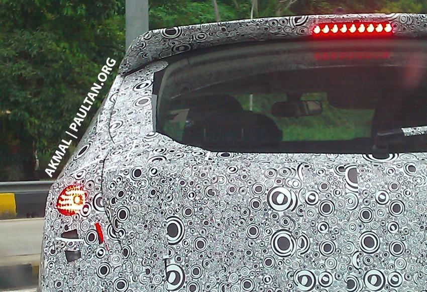 Proton P3-22A Spyshots: clearest pics yet of Proton's upcoming 5-door Preve hatchback Image #150234