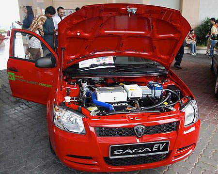 Proton Saga EV