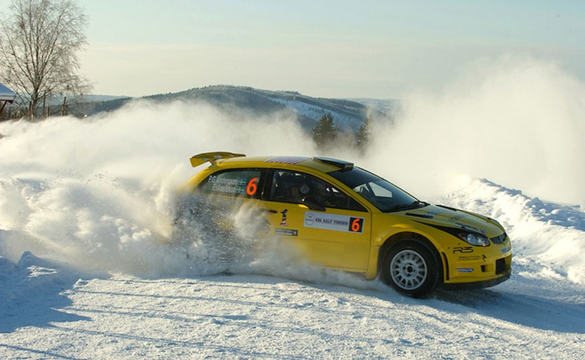 Rally Sweden LIVE: Proton's PG Andersson and Alister McRae are ready for the ultimate snow challenge! Image #86476
