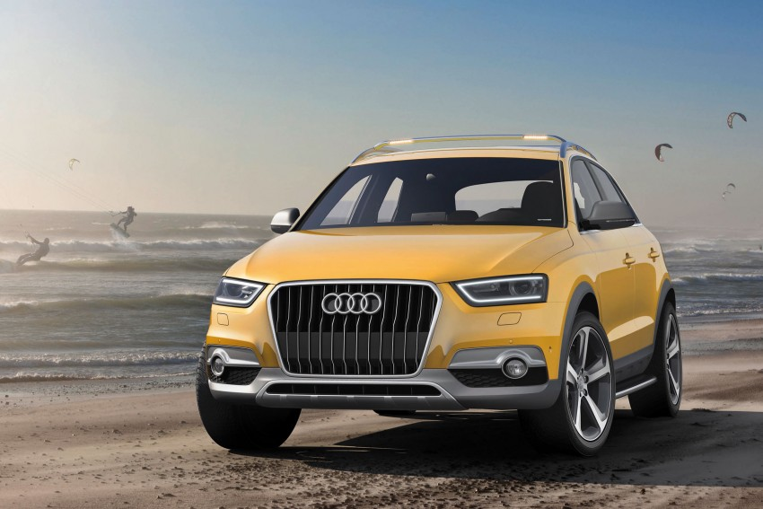 Audi Q3 jinlong yufeng concept SUV rolls out in Beijing Image #102333