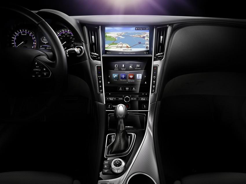 Infiniti Q50 and Q50 Hybrid unveiled at Detroit 2013 Image #150150