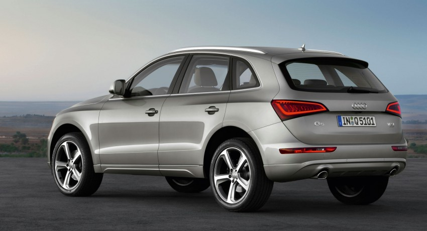 Audi Q5 gets mid-life updates, adds hybrid to the range Image #102896