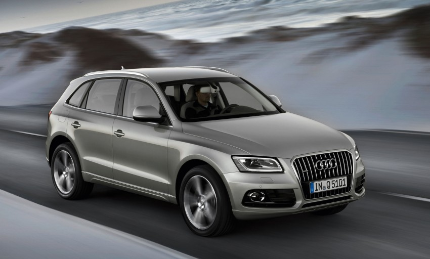 Audi Q5 gets mid-life updates, adds hybrid to the range Image #102897