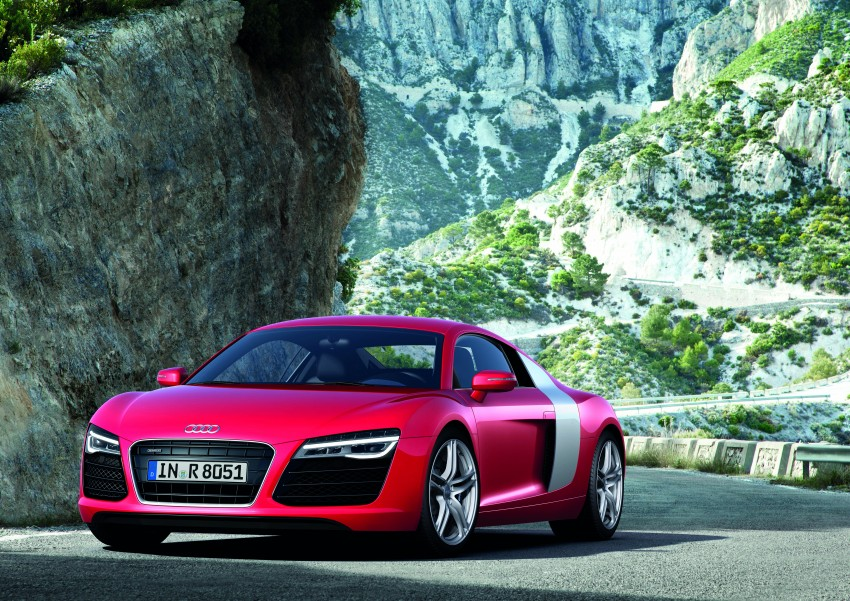 Audi R8 facelift – now with S tronic dual clutch Image #122126