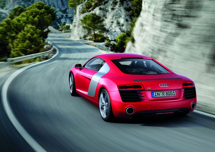Audi R8 facelift – now with S tronic dual clutch Image #122127