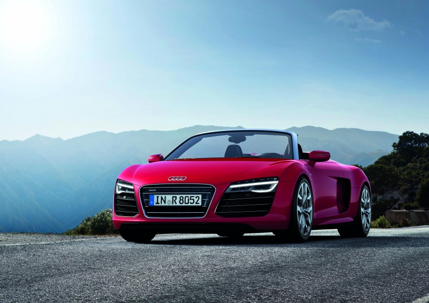 Audi R8 facelift – now with S tronic dual clutch Image #122120