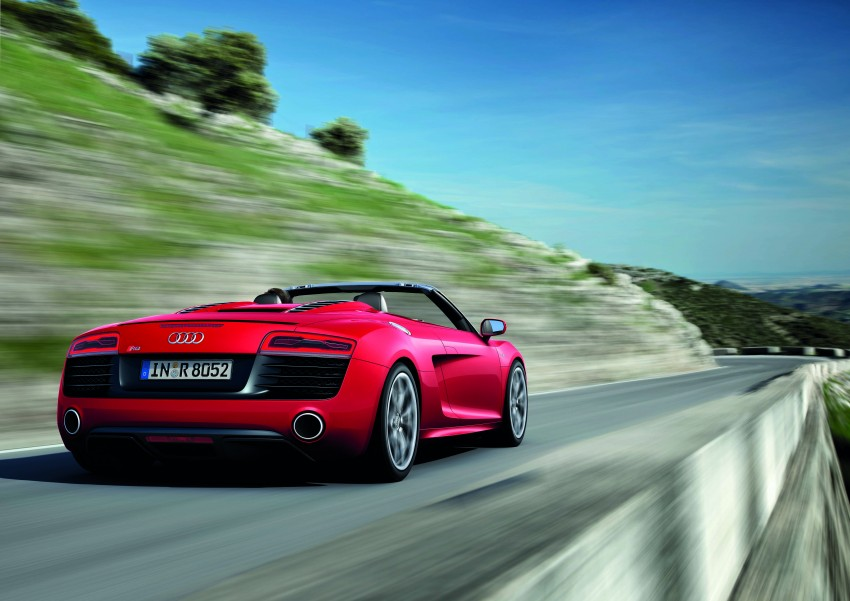 Audi R8 facelift – now with S tronic dual clutch Image #122124