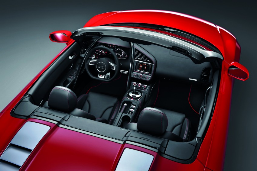 Audi R8 facelift – now with S tronic dual clutch Image #122122