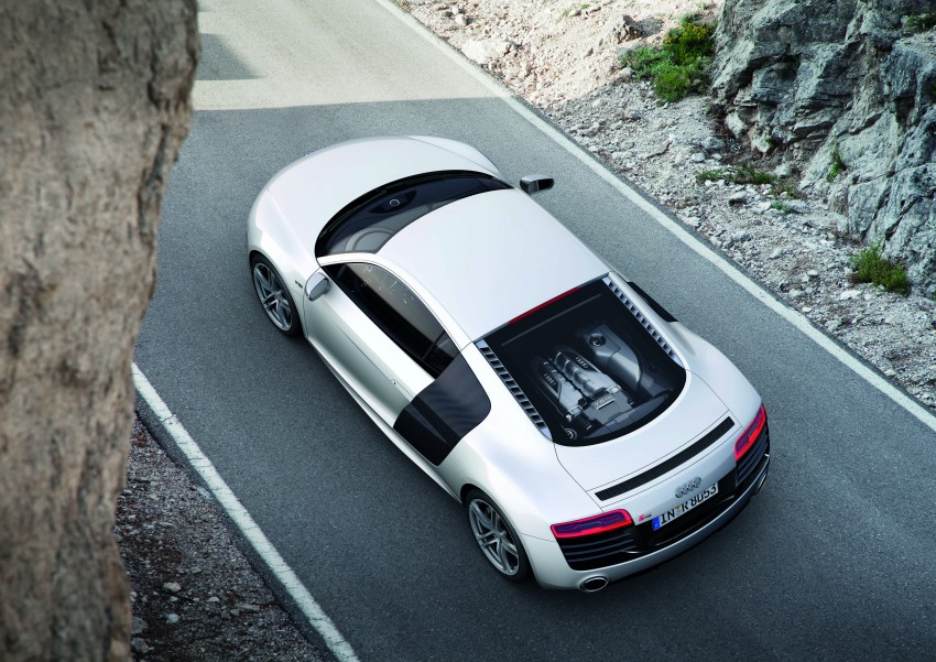Audi R8 facelift – now with S tronic dual clutch Image #122121