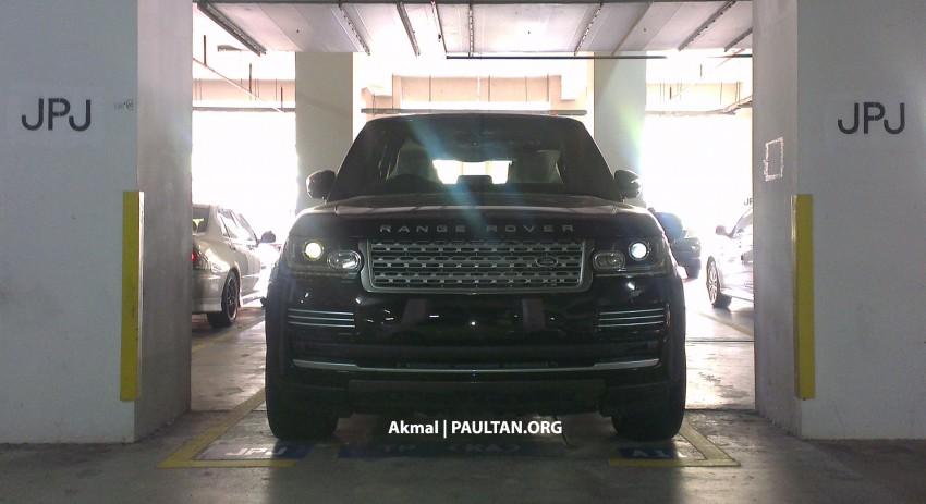 New Range Rover L405 sighted at JPJ Putrajaya Image #151347