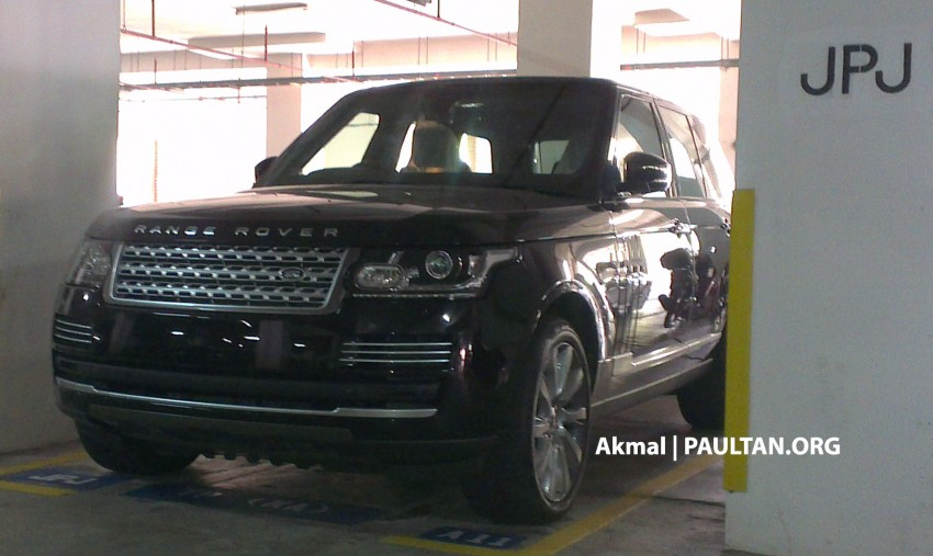 New Range Rover L405 sighted at JPJ Putrajaya Image #151346