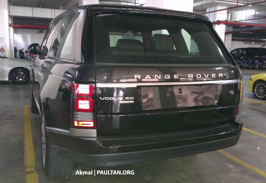 New Range Rover L405 sighted at JPJ Putrajaya Image #151345