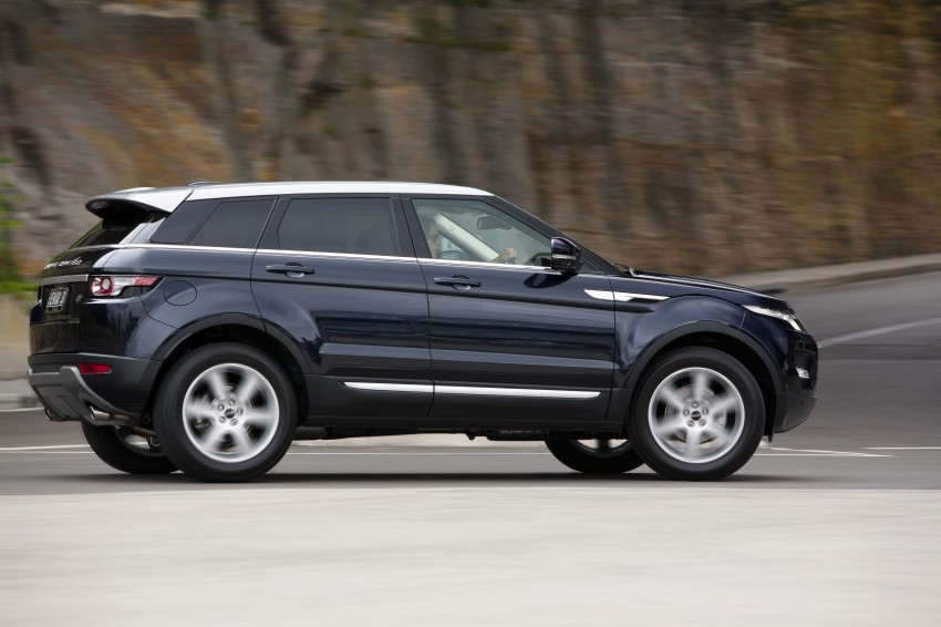 Range Rover Evoque Test Drive Review in Sydney Image #77203